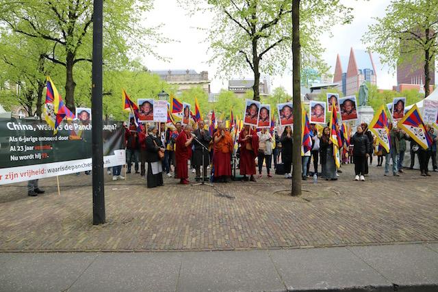Panchen Lama Den Haag